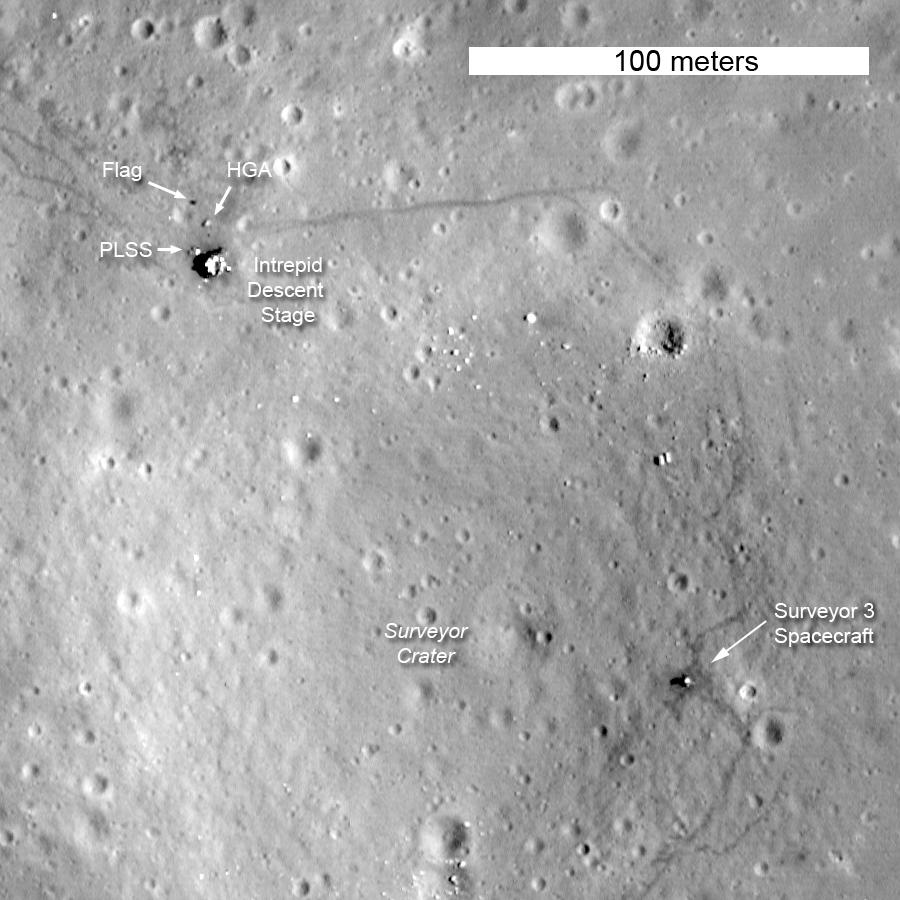 moon landing sites - photo #8