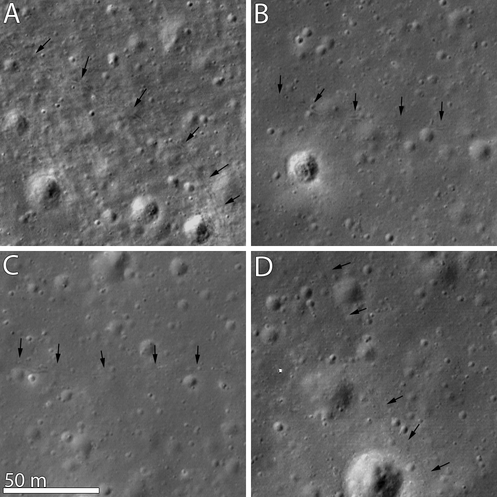 LRO Sees Apollo 15 Rover Tracks | Solar System Exploration