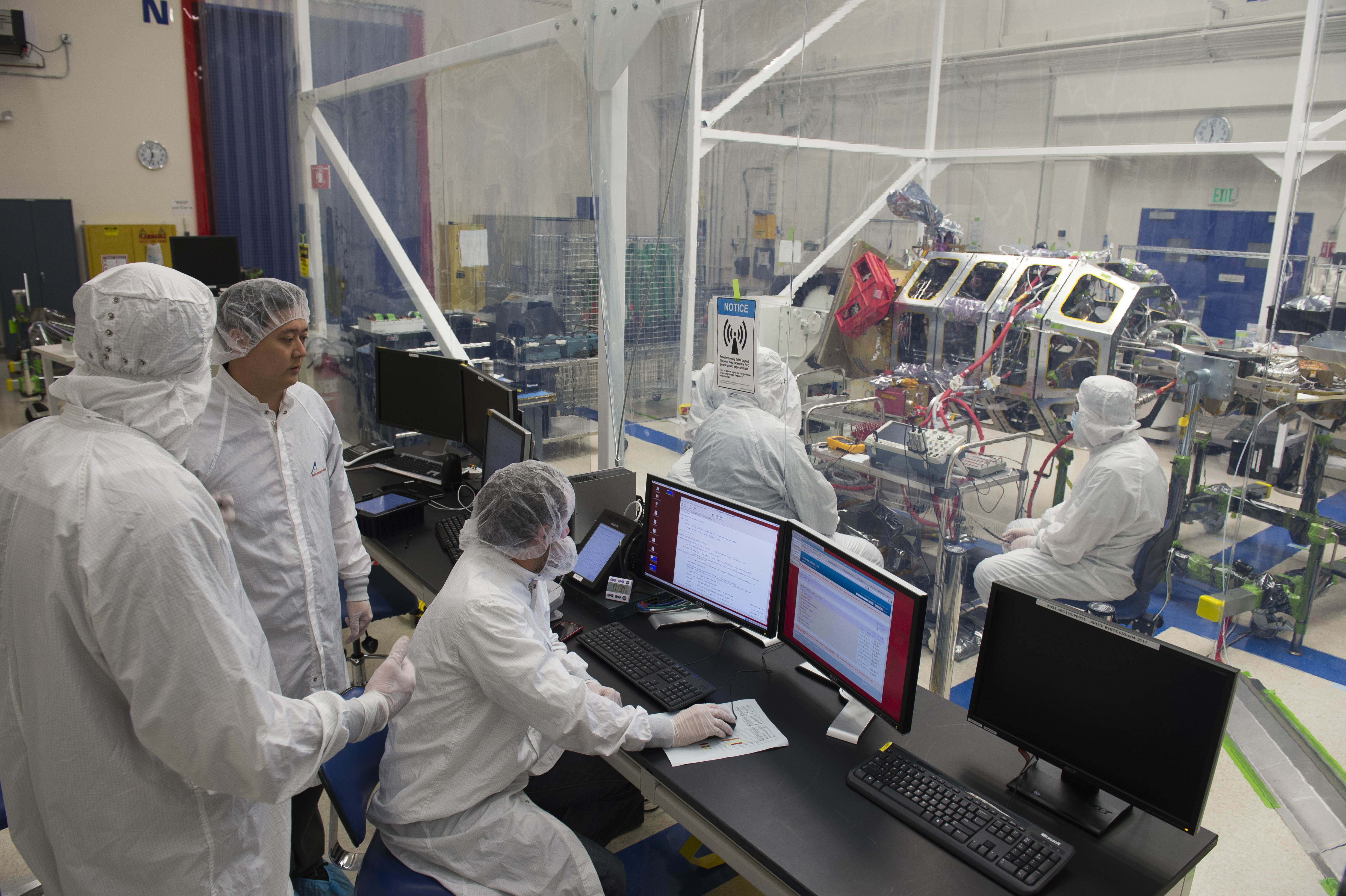 Nasa s ladee spacecraft gets final science instrument for Nasa air study