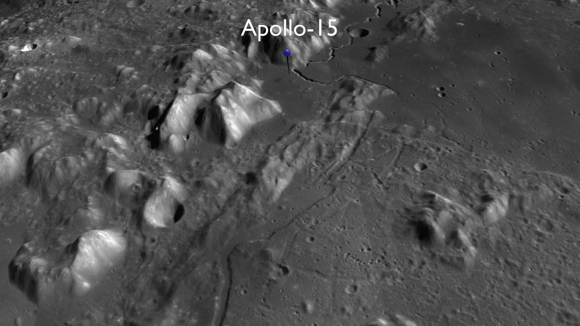apollo lunar landing sites - photo #23